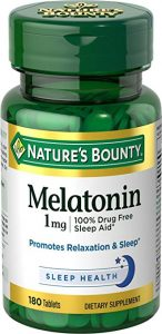 melatonin pills for sleep
