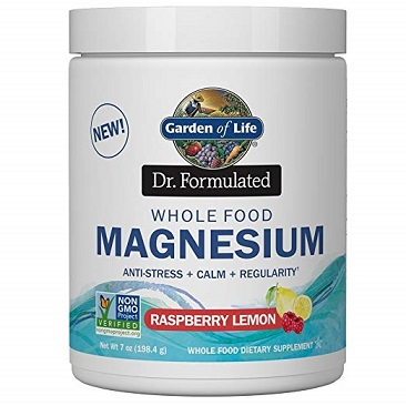 Garden of Life Formulated Whole Food Magnesium