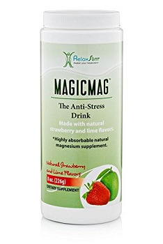 NaturalSlim Anti Stress Drink Pure Magnesium Citrate Powder