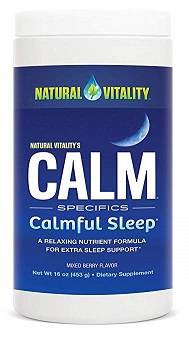 natural vitality magnesium sleep support